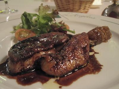 L'Angelus, foie gras