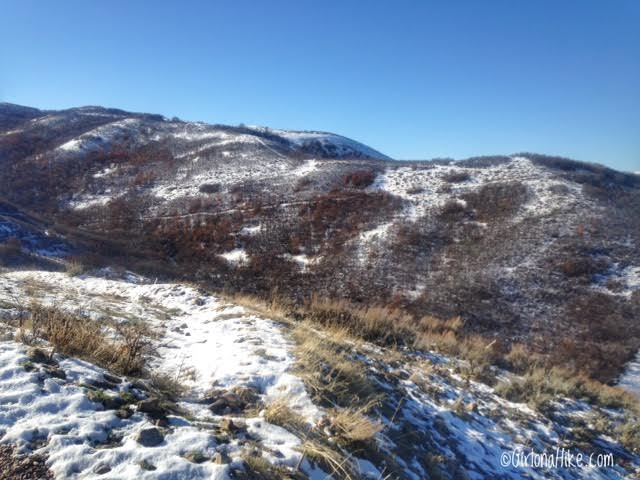 Hiking the Wild Rose Trail, North Salt Lake City