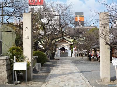 櫻宮神社参道