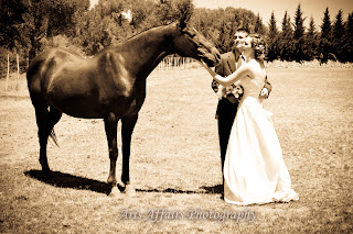 Aris Affairs Photography can expertly capture your non-traditional wedding in Prescott.