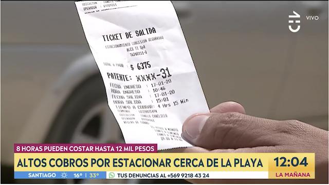 Reportaje Completo Chilevisión Estacionamientos