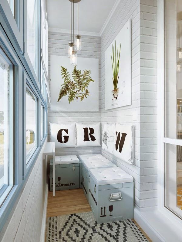 Ide Interior Rumah Kecil Dengan Dekorasi Kreatif Rancangan Desain