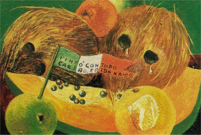 Фрида Кало - Плачущие кокосы. 1951