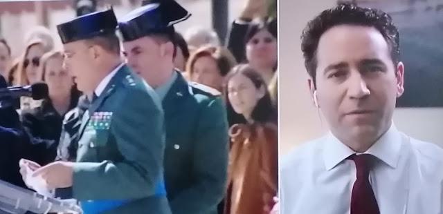 """García Egea :""""El Gobierno demuestra estar más cerca de Bildu que de la Guardia Civil"""""""