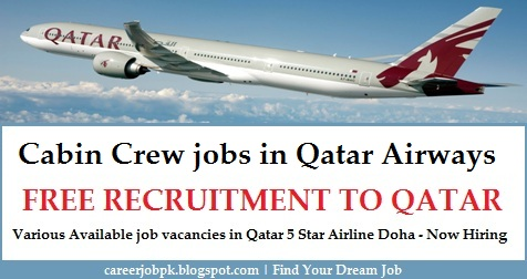 Cabin Crew jobs in Qatar Airways