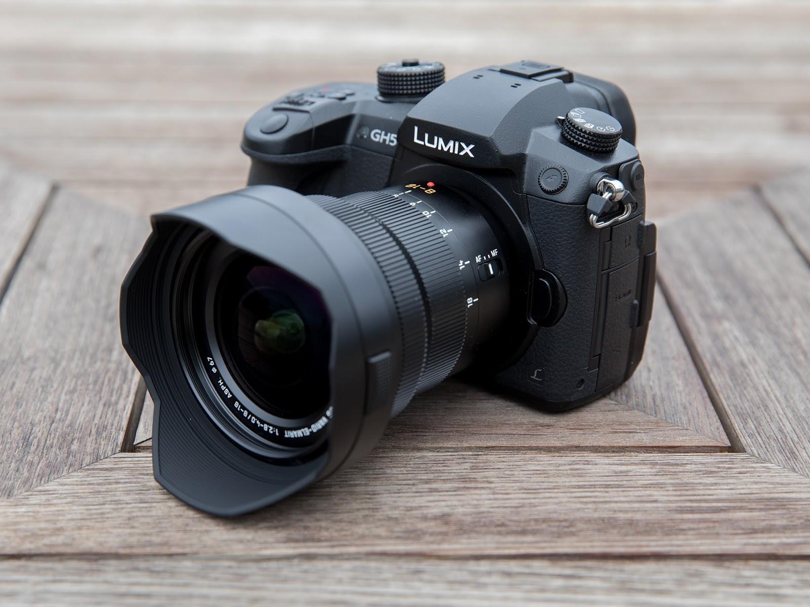 Panasonic Leica DG Vario-Elmarit 8-18mm f/2.8-4 Asph. и Panasonic Lumix GH5