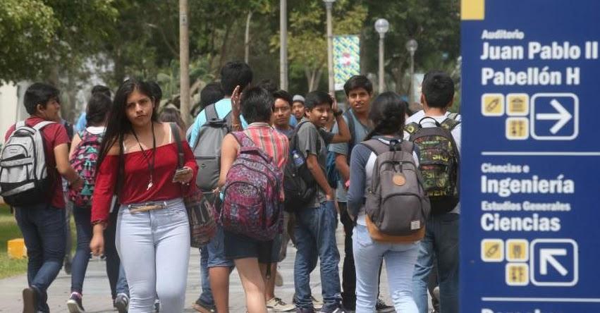 SUNEDU destaca avances del licenciamiento institucional de universidades - www.sunedu.gob.pe