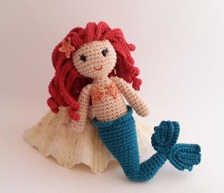 Free Amigurumi Mermaid Patterns : 2000 Free Amigurumi Patterns: Lovely mermaid pattern in ...