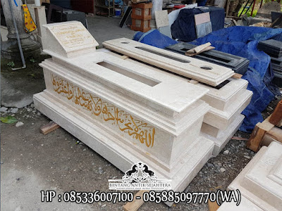Kuburan Muslim Marmer, Model Makam Marmer Terbaru, Kijing Makam Marmer Tulungagung