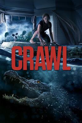Crawl 2019 Eng 1080p WEB HDRip 700mb ESub HEVC x265