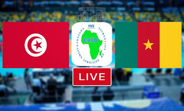 Match En Direct : Tunisie vs Cameroon en finale Championnat d'Afrique De Volleyball CAVB 2021