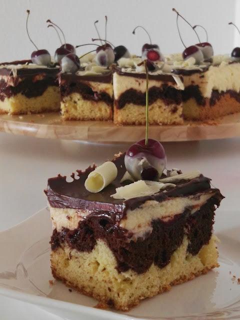 Donauwelle, traditioneller Kuchen