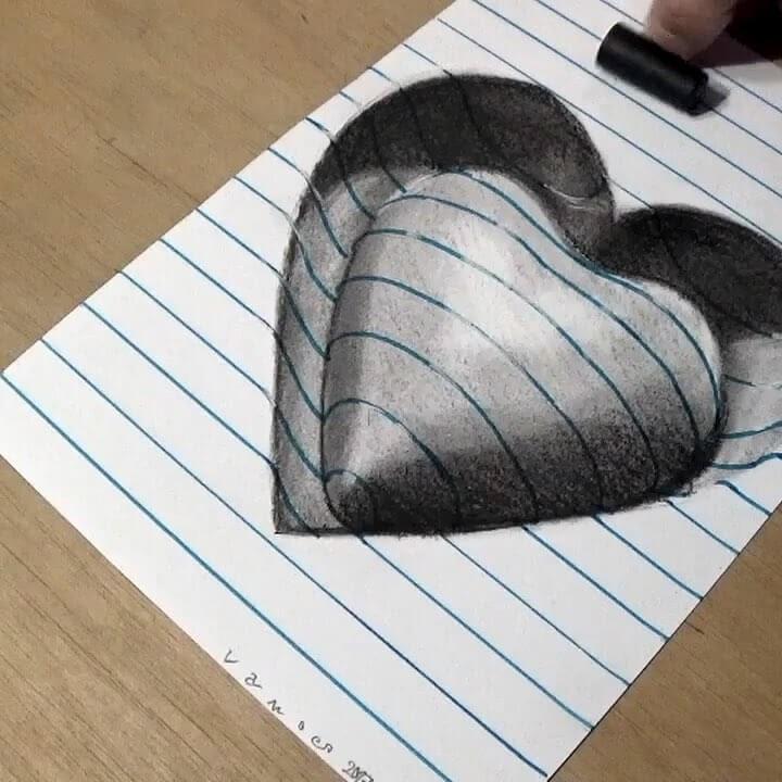 04-Sunken-Heart-3D-Art-Sandor-Vamos-www-designstack-co