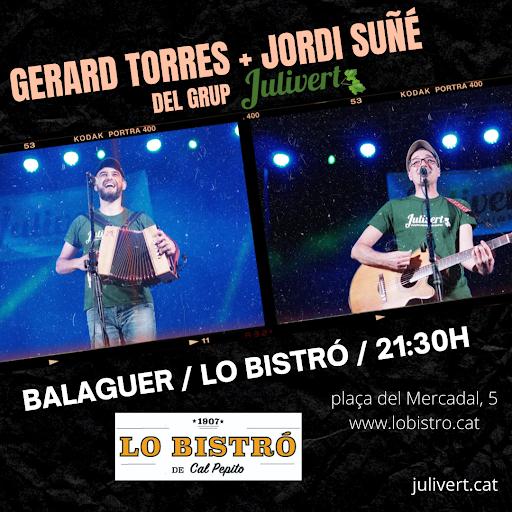 12 d'AGOST: GERARD + JORDI A BALAGUER