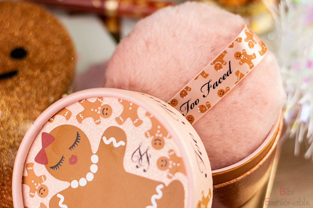 Too Faced Holiday Collection Gingerbread Sugar Body Powder Puderquaste