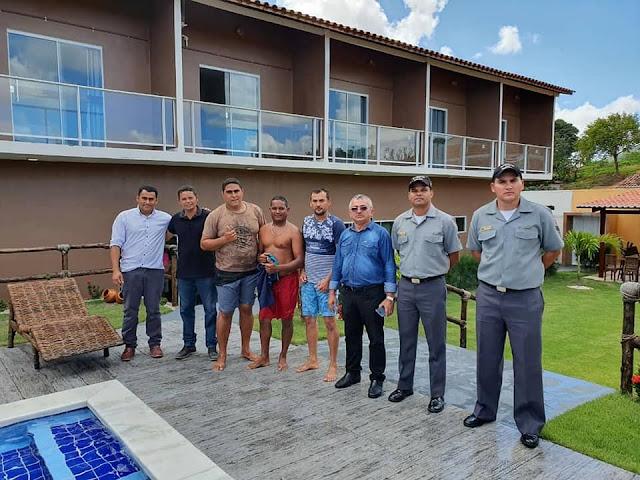Prefeitura  de Olho d' Água do Casado em parceria com a Marinha do Brasil, realizam o 1° Curso de Formação de Marinheiro Fluvial Auxiliar de Convés no município