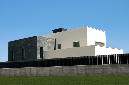 Casa-Blanco-Negro-Moderna-ACGP Arquitectura-Lujo