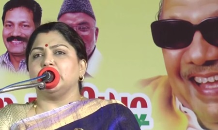 Khushboo attacks Jayalalitha ! Must Watch