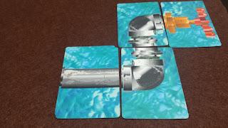 水道管ゲーム パイプカードで修理