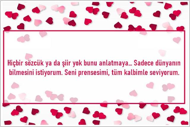 güzel sevgililer günü mesajı