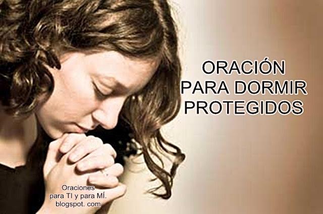 Amado Dios de Paz, me presento ante ti al final de este día. Ayúdame a vivir tranquilo, protegido y a dormir confiado en tus brazos.