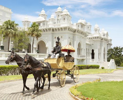 Taj Falaknuma Palace in Hyderabad