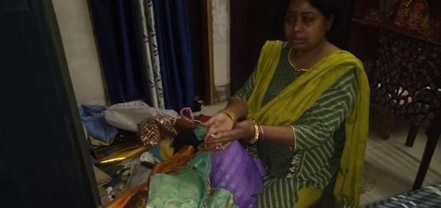 अधिवक्ता के घर से लाखों के आभूषण और हजारों रुपए की चोरी।