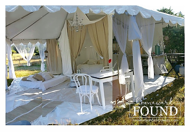 white,weekend makeover,summer,re-purposing,outdoors,neutrals,entertaining,DIY,diy decorating,decorating,creative spaces,coastal style,boho style,beach style,somerset life magazine,vintage,bedouin tent,glamping,cabana,bohemian decor,summer decor, summer entertaining,backyard boho,backyard cabana, create a backyard cabana