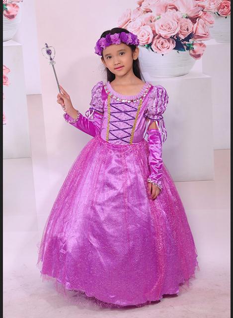 Gaun Rapunzel