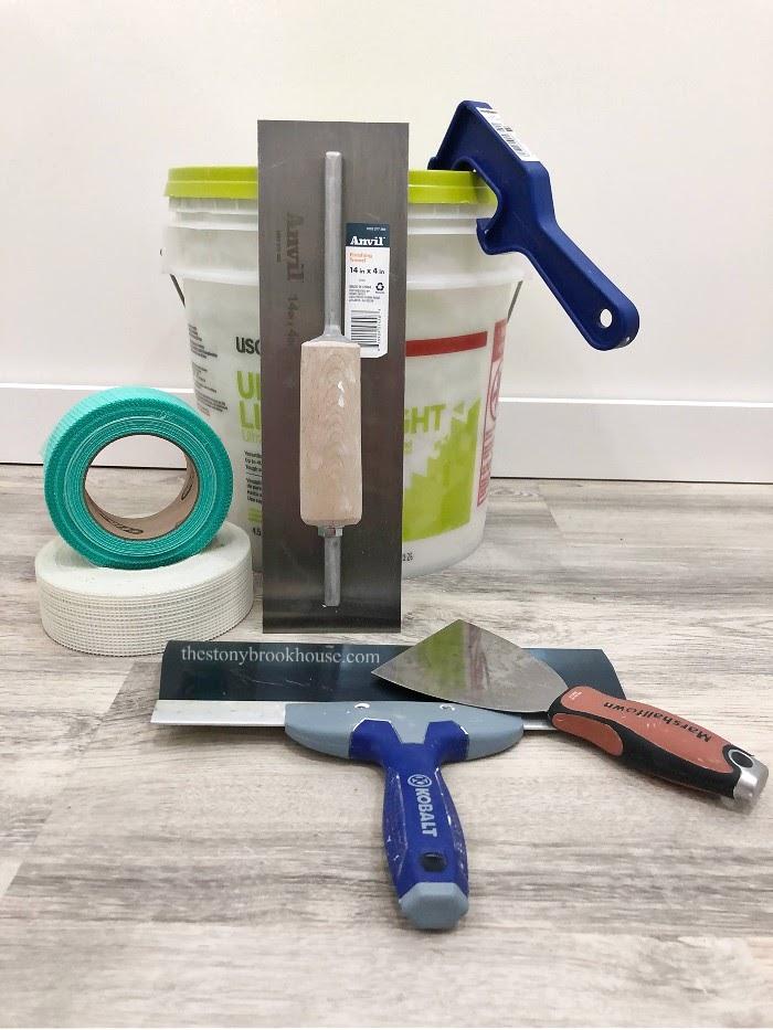 Drywall mudding tools