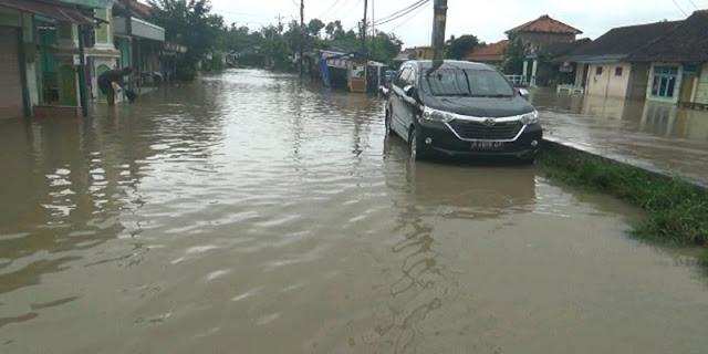 Selain Kota Semarang, Banjir Juga Genangi 72 Desa Di Kendal Jawa Tengah