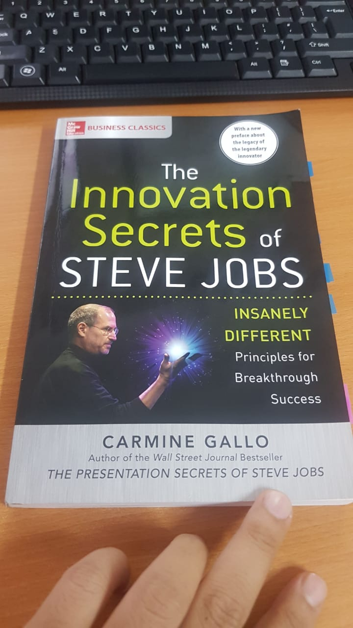 Buku Rahasia Inovasi Steve Jobs