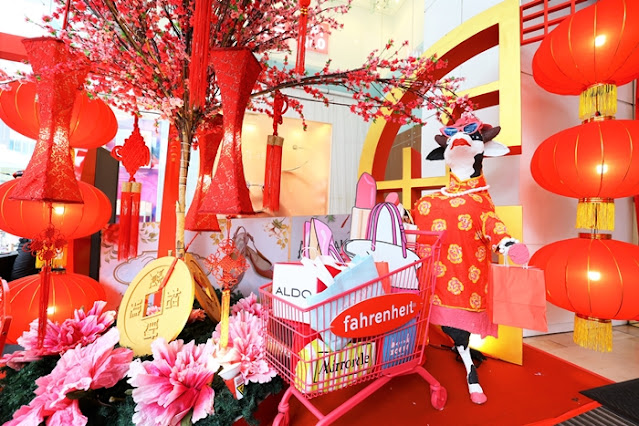 A Blessed Moo Year,  Fahrenheit88, Malaysia Shopping Mall Decoration, CNY Shopping Mall Decoration, KL Top Shopping Mall Decoration, Lifestyle