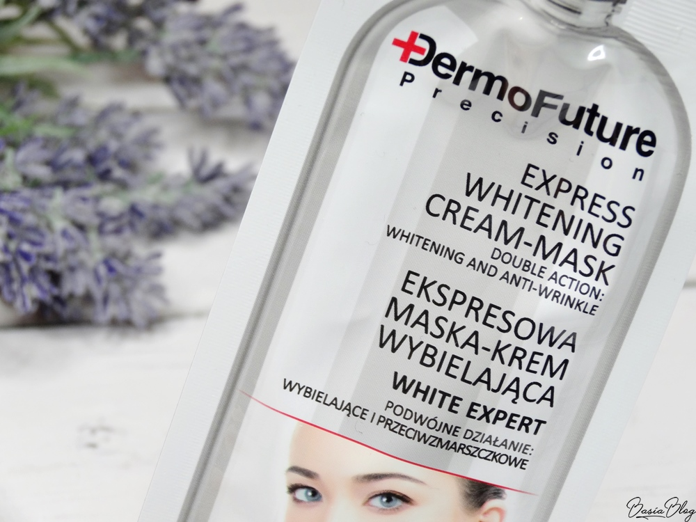 Dermofuture maseczka wybielająca przebarwienia