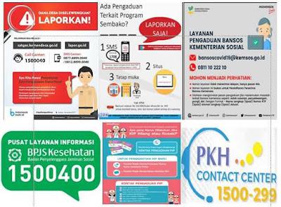Pengaduan Online Beberapa Program Bantuan Sosial