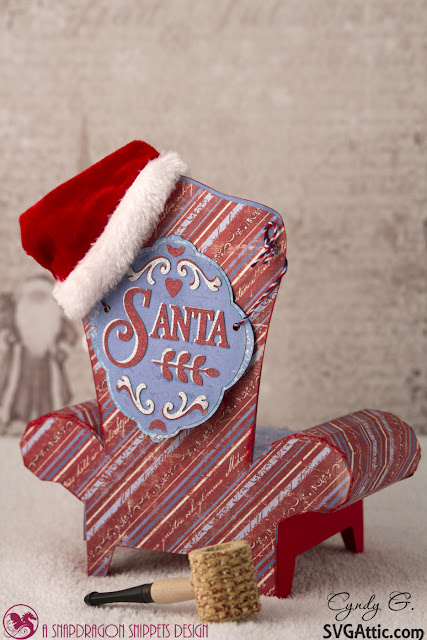 Back of Santa Chair