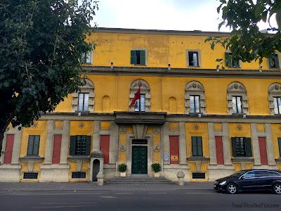 La capitale de Tirana en Albanie