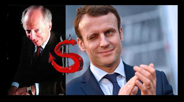 Resultado de imagen de El candidato de los Rothschild en las elecciones presidenciales de Francia