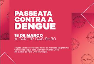 Passeata contra a Dengue em Cajati