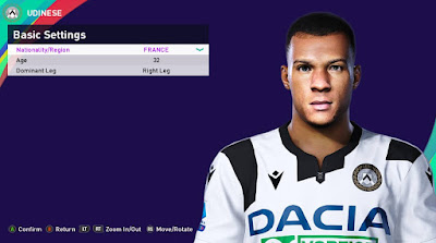 PES 2021 Faces Sebastian De Maio by Rachmad ABs
