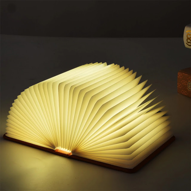 Coupon Utorch LED 5 Color Book Night Light