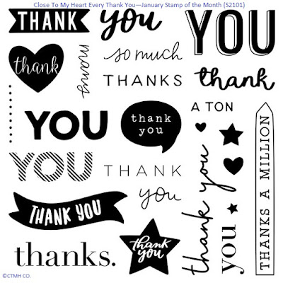 Every Thank You (S2101)-January 2021 CTMH SOTM
