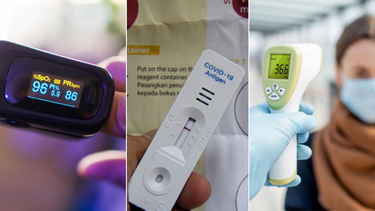 Kit Ujian Kendiri Covid-19, Oximeter, Termometer Akan Diberikan Secara Percuma Kepada Golongan B40
