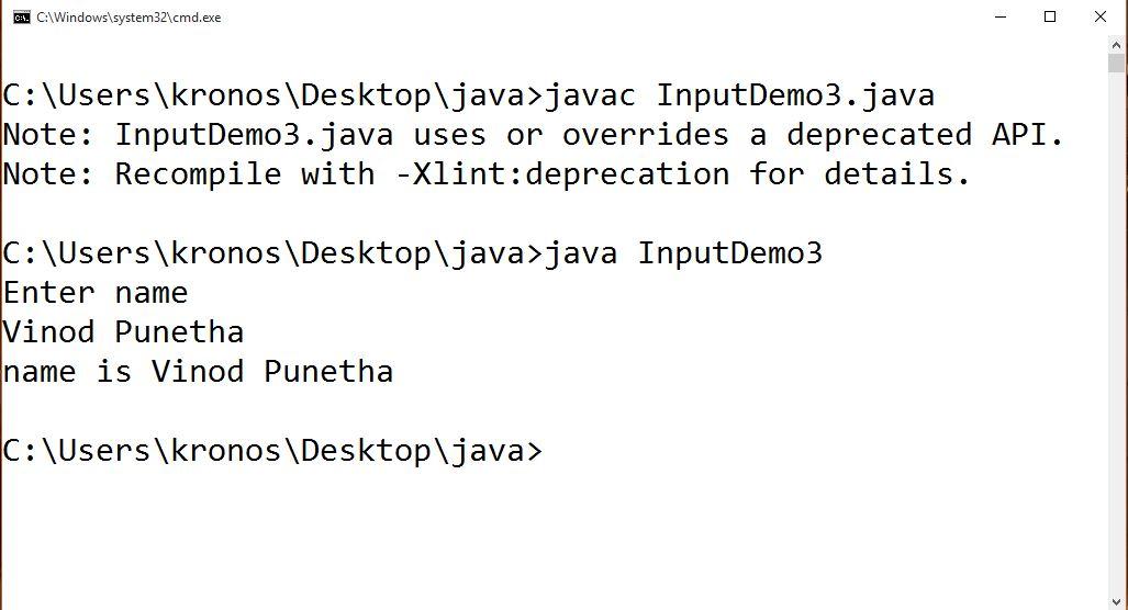 Java Input from keyboard using DataInputStream Class   Best Java