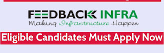 Feedback Infra Pvt Ltd Recruitment For Degree/ Diploma/ ITI Candidates For Railway Project in Assam