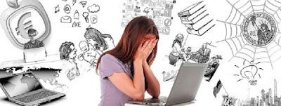 Moça desesperada com a desorganização que tomou conta de sua vida