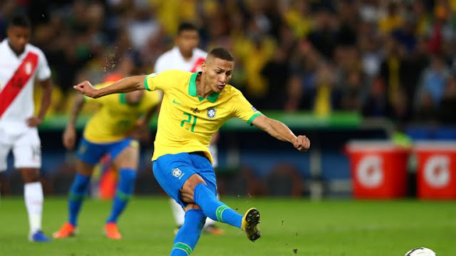 Brazil vs Peru goals