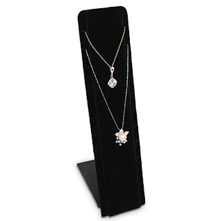 The Necklace Display Stand from Nile Corp is a cheaper alternative to other displays