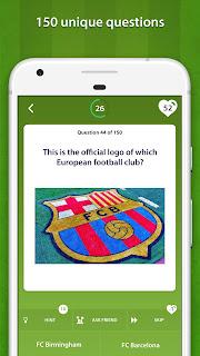 Click to view Football Quiz 3.0.0. screenshot