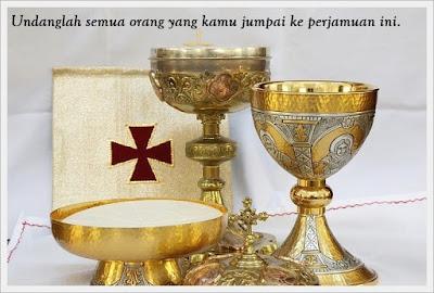 teks misa HR Kristus Raja Semesta Alam